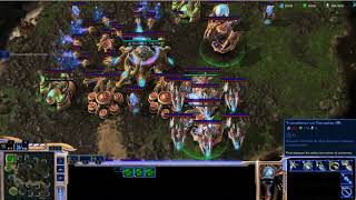 Gameplay Starcraft 2 legacy of the void GOLD Protoss strategy against Marine Win in 13min