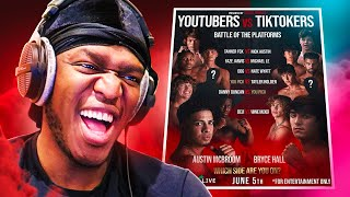 This Youtube Vs TikTok Boxing Event is...