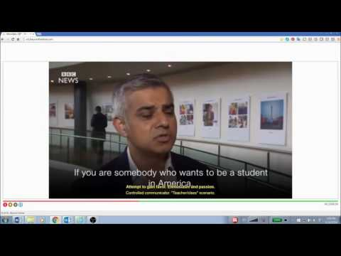Sadiq Khan's emotions analyzed when talking about Donald Trump's Muslim 'exception'
