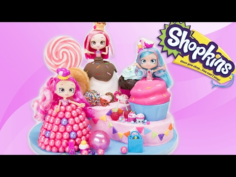Shopkins Shoppies Cake (Donutina, Jessicakes, Bubbleisha) from Cookies Cupcakes and Cardio