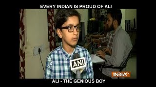 11-year-old Hyderabad boy coaches engineering students..