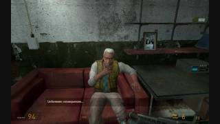 Half-Life 2: Episode Two - Alyx delivers G-Man's message