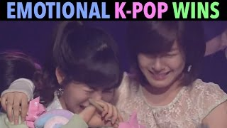 MOST EMOTIONAL K-POP MUSIC SHOW WINS! (1ST WINS & MORE)