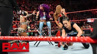 Sasha Banks & Bayley succumb to a sneak attack: Raw, Nov. 26, 2018