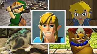 Evolution Of Link's Idle Animations In The Legend Of Zelda Series (1998-2018)