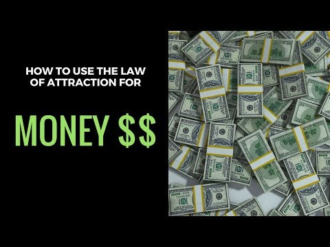 How to use the law of attraction to help make money