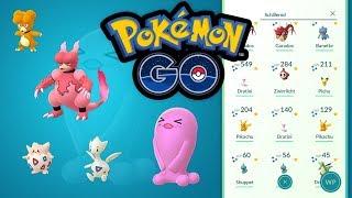 Neue Shinys und meine Shiny-Sammlung   Pokémon GO Deutsch #566