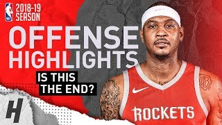 Carmelo Anthony BEST Offense Highlights from 2018-19 NBA Season! What's Next?