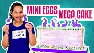 How To Make a CADBURY MINI EGGS MEGA CAKE | With COCONUT Cake | Yolanda Gampp | How To Cake It