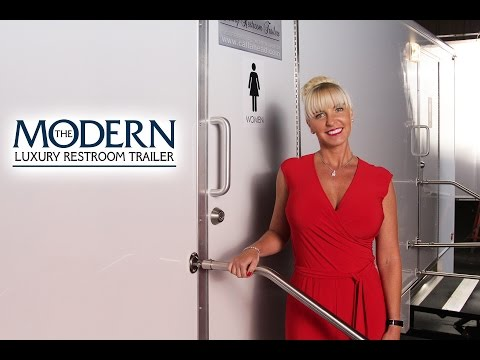 'The Modern' Luxury Restroom Trailer by CALLAHEAD New York