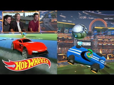 New Hidden Hot Wheels Items in Rocket League (Exclusive Gameplay) | Hot Wheels