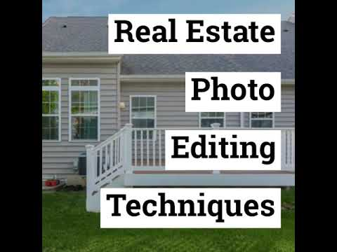 Real Estate Photo Editing Terms You Must Know