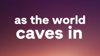 Sarah Cothran - As The World Caves In (Lyrics)