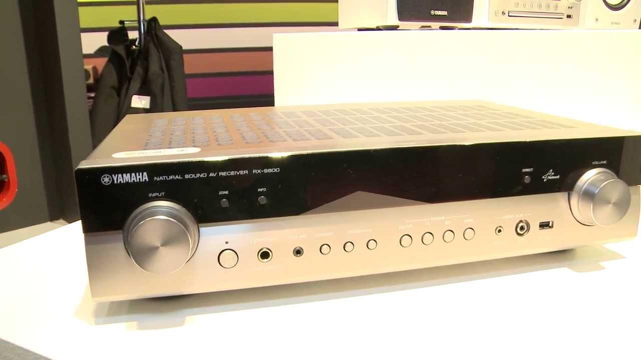yamaha hem och villa 2013 rx s600 slimline receiver. Black Bedroom Furniture Sets. Home Design Ideas