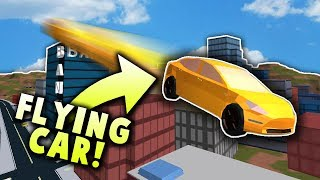*CRAZY* FLYING CAR GLITCH IS BACK ON JAILBREAK!  - TUTORIAL! | Roblox