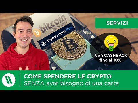 Come SPENDERE BITCOIN e Crypto su AMAZON (e non solo!) SENZA una carta | CRYPTO.COM PAY