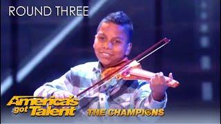 Tyler Butler-Figueroa: Simon's Golden Buzzer Is Back To WIN @America's Got Talent Champions!