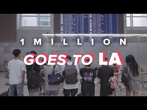 1MILLION / Goes to LA