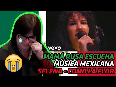 RUSSIAN MOM REACTS TO MEXICAN MUSIC | Selena - Como La Flor (Live Astrodome) [MOM CRIES] | REACTION