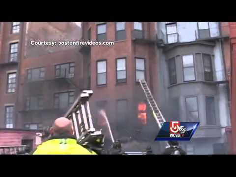 Fire's power: Backdraft blasts out windows