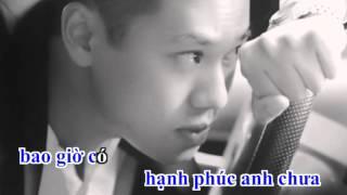 [Karaoke] Tình Yêu Chắp Vá - Mr.Siro - Beat Gốc