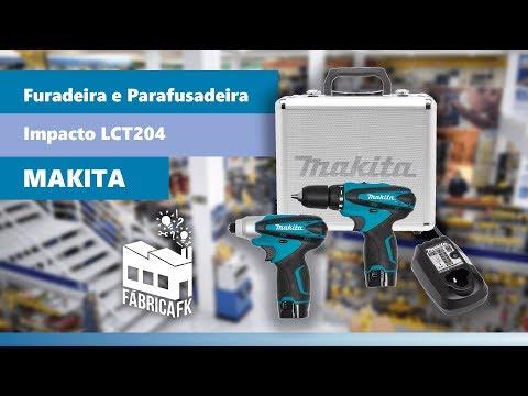 Furadeira E Parafusadeira De Impacto Makita Lct204 - Bivolt - Vídeo explicativo