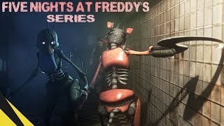 FIVE NIGHTS AT FREDDY'S SERIES (Trailer) | FNAF Animation