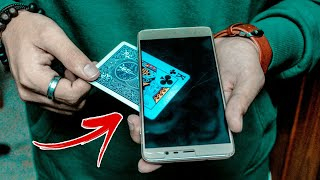 Do This SIMPLE Card Trick With ANY SMARTPHONE!!!
