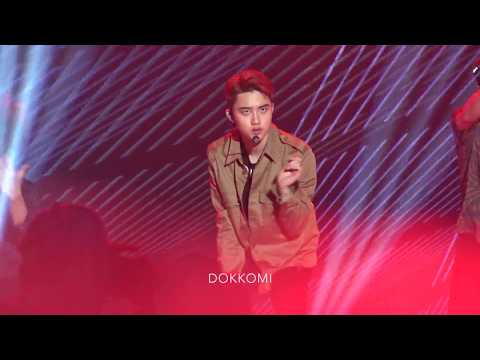170708 EXO (엑소) - 중독 (D.O. focus) @ 2017 SMTOWN Live in Seoul