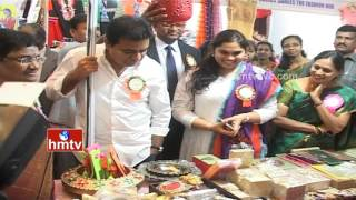 KTR launches trade fair organised by Villa Marie students..