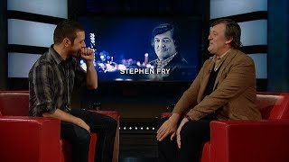 Stephen Fry on George Stroumboulopoulos Tonight: INTERVIEW