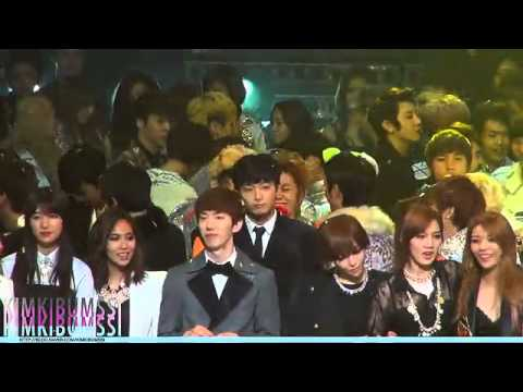 121231 Best fancam of MBC Gayo Daejun - Ending Part (SHINee, EXO-K, etc)