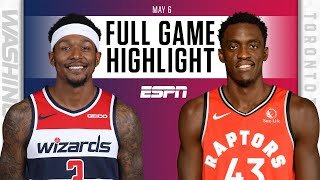Washington Wizards at Toronto Raptors | Full Game Highlights