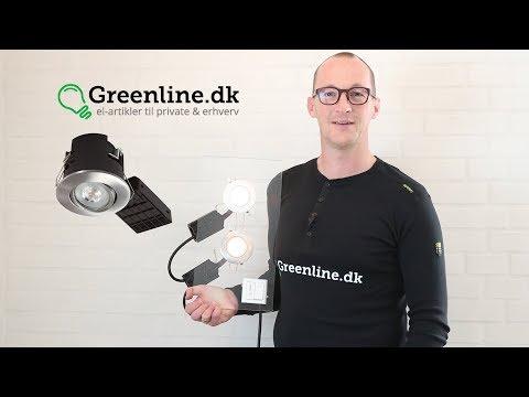 LED spot med Philips Master ExpertColor LED pærer - perfekt lys & kvalitet.