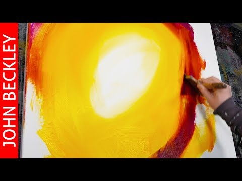 Masking tape and Acrylic Abstract Painting timelapse | Utopia