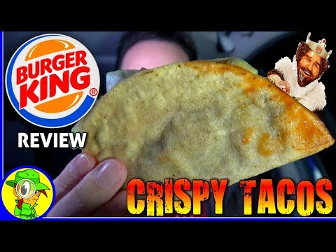 Burger King® | Crispy Tacos | Food Review!