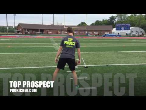 Tanner Dawson, Field Goals, Ray Guy Prokicker.com Top Prospect Camp 2016