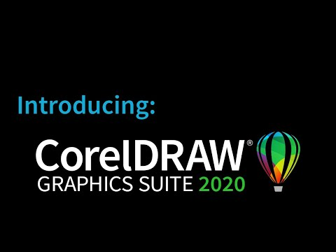 video CorelDRAW Graphics Suite 2020