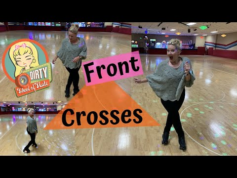 How to Do Front Crosses on Roller Skates