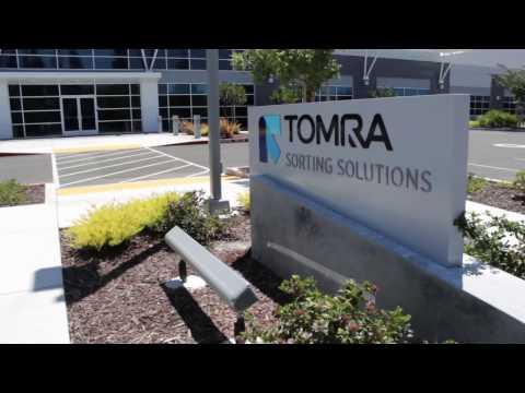 TOMRA Sorting's facility in Sacramento, USA