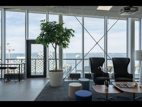 418 kvm ledig kontorslokal på Helsingborg C med sundsutsikt