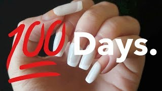 I left my shellac for 100 days.