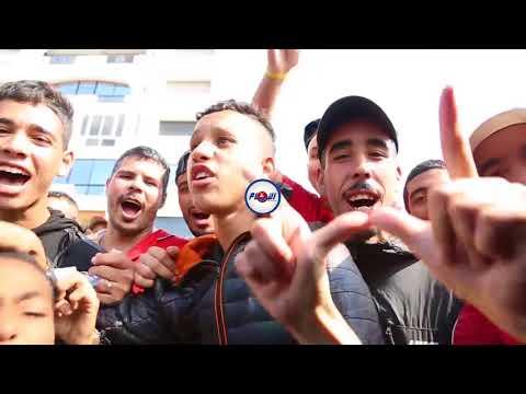 شعارات جماهير الوداد قبل المباراة المصيرية أمام الأهلي