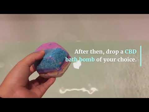How To Use CBD Bath Bombs Canada