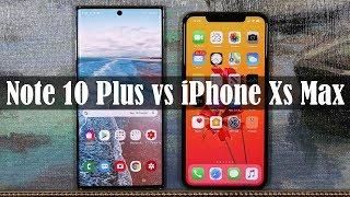 Galaxy Note 10 Plus vs iPhone Xs Max - Full Comparison