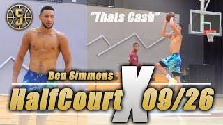 Ben Simmons Half Court Challenge *He Cant Miss*