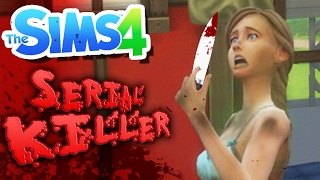MY FIRST KILL! | Serial Killer Challenge (The Sims 4)