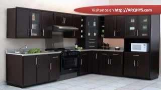Cocinas integrales para espacios peque os xem video clip for Muebles de cocina wilde