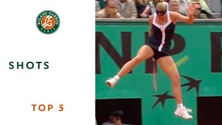 Top 5 Shots - Roland-Garros