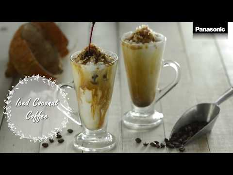 Panasonic V Series Blender – Iced Coconut Coffee